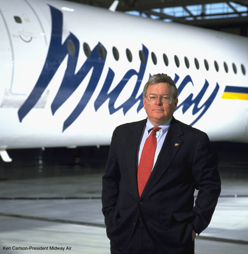 Ken Carlson Pres Midway Air