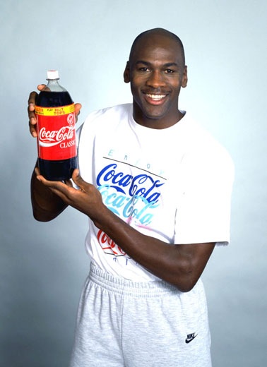 Michael Jordan for Coke
