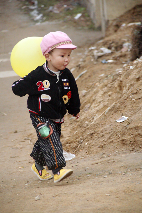 boy & balloon