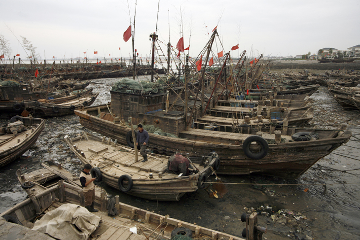 fishing village, Rizhao, China
