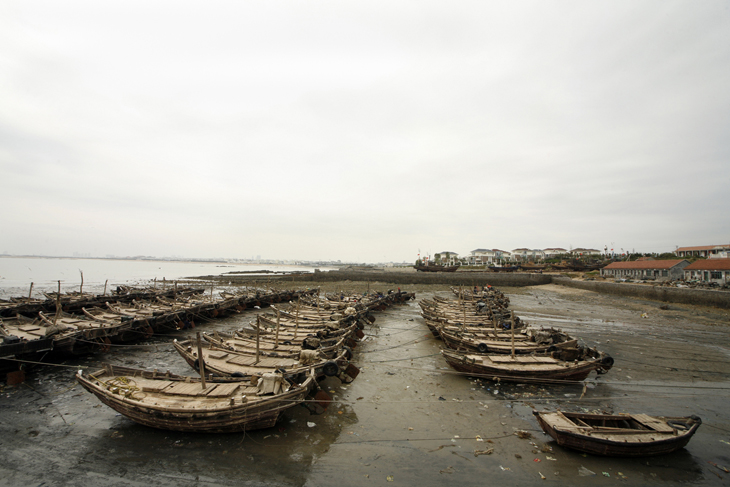 fishing village, Rizhao
