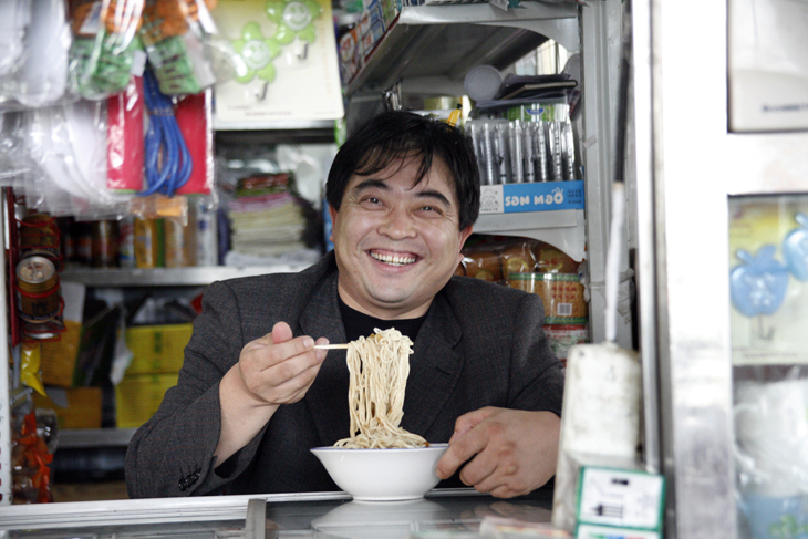 noodle man, China