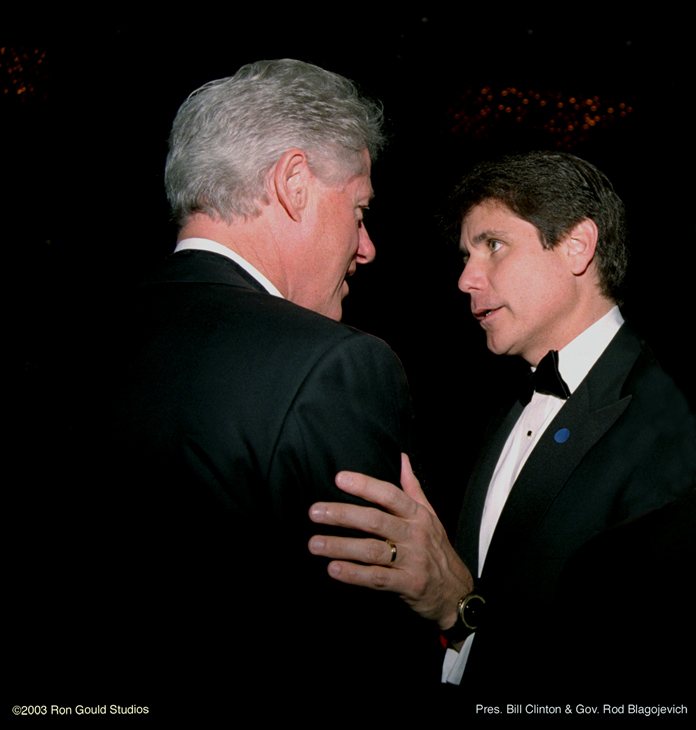 Clinton & Blagojevich