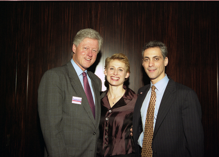 Clinton Rahm & wife