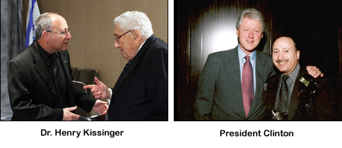 Kissinger and clinton