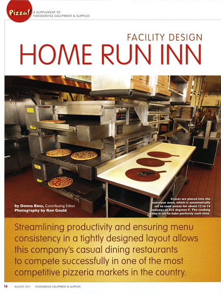 Home Run Inn ovens