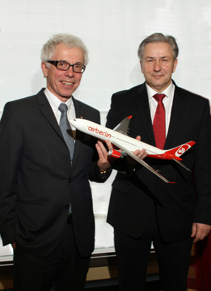 CEO Air Berlin & Mayor of Berlin