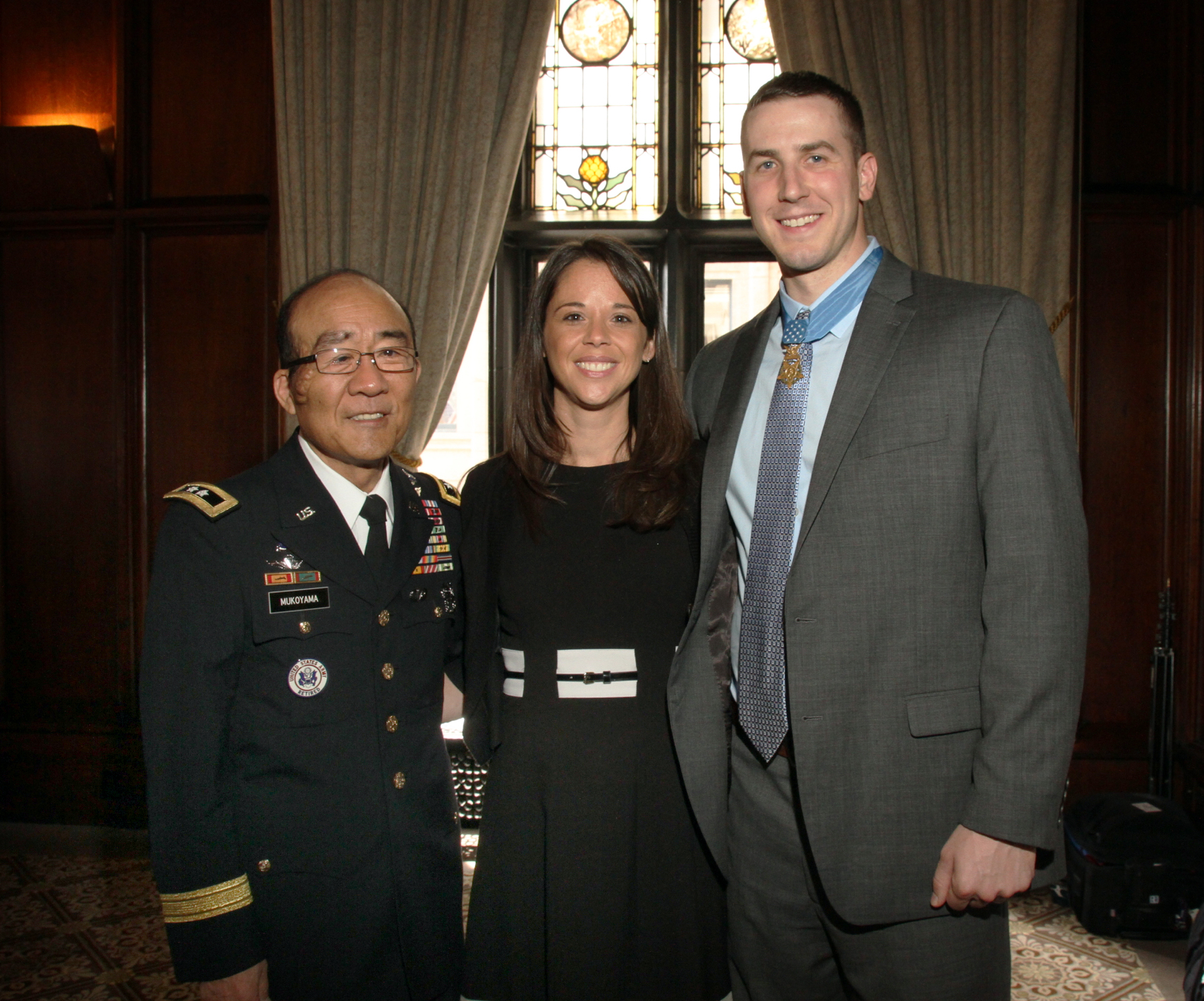 Medal of Honor recipient Master Sgt. Ryan Pitts